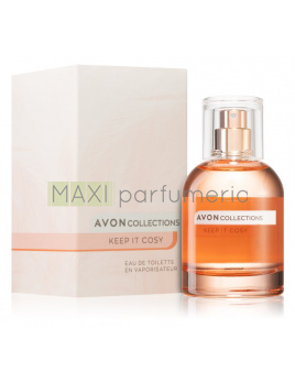 Avon Collections Keep it Cosy, Toaletní voda 50ml