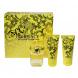 Versace Yellow Diamond, Edt 50ml + 50ml tělové mléko + 50ml Sprchový gél