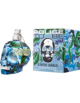 Police To Be Exotic Jungle, Toaletní voda 40ml